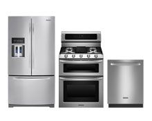 Kitchenaid French Door Refrigerator Double Oven Gas Range