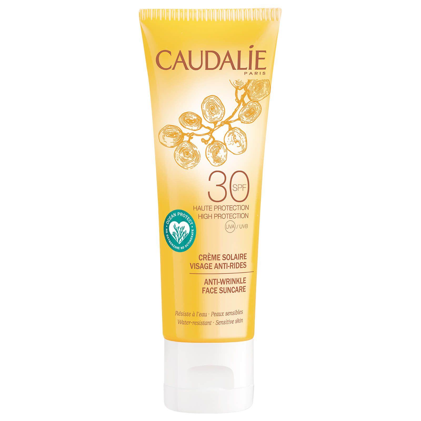 Caudalie Anti Wrinkle Face Sun Care Lotion Spf 30 50ml In 2020