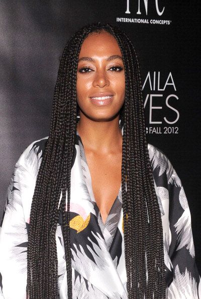 How Many Inches Were Solange Box Braids Google Search