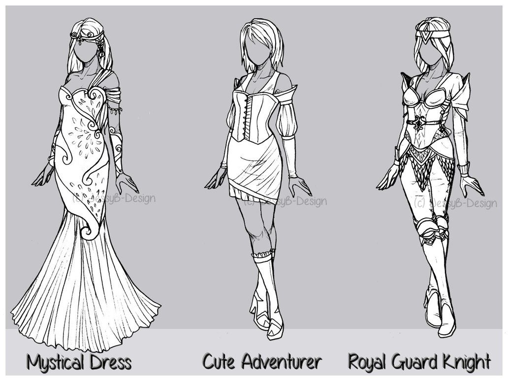Outfit Design Batch 6 Closed By Jessyb Design