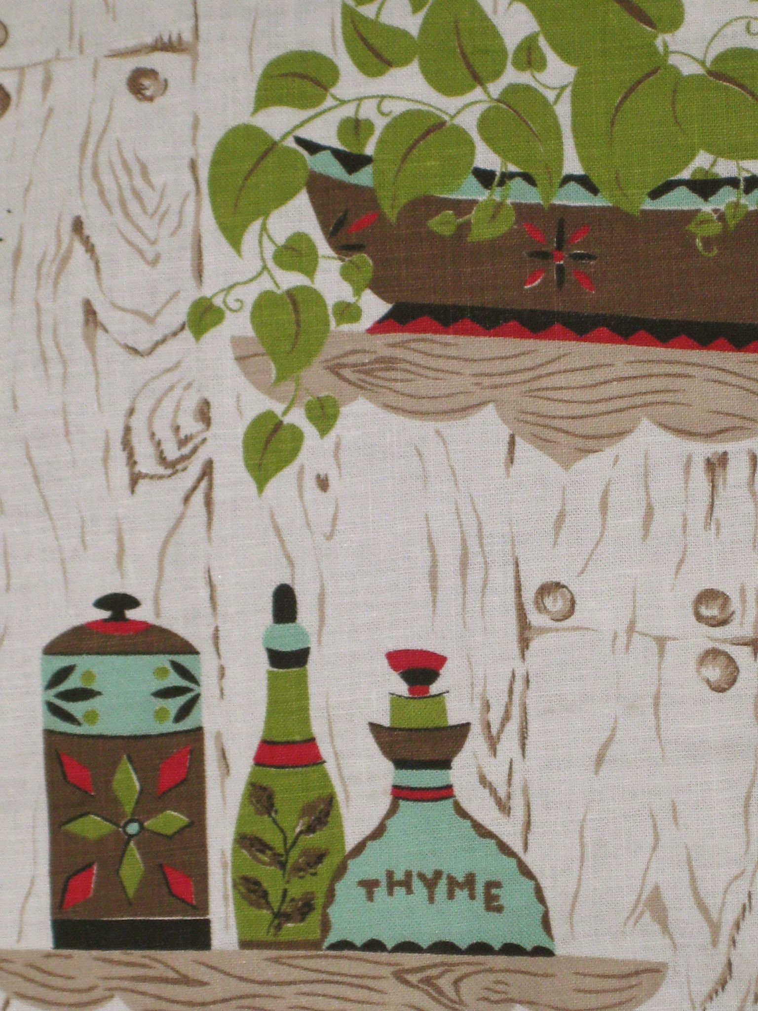 Wonderful Vintage Kitchen Curtains | Retro Kitchen Curtain Fabric
