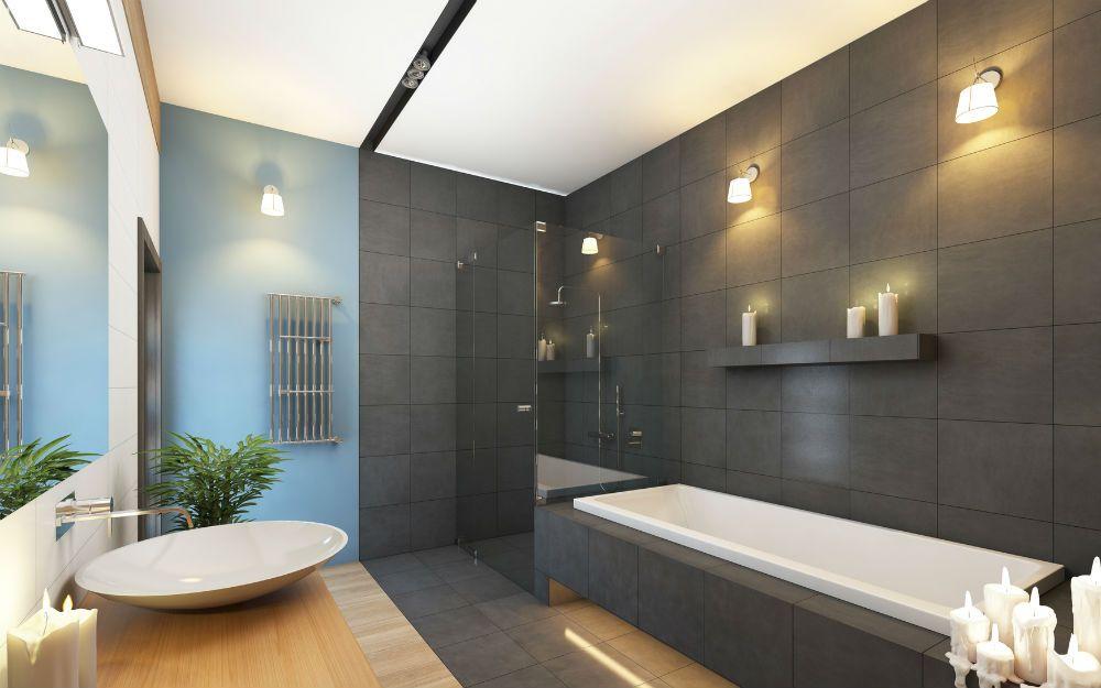 Aménager Une Salle De Bain Moderne : Http://Www.Travauxbricolage