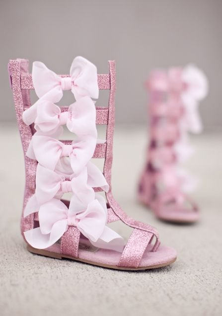 Joyfolie Alexa Bow Boot In Pink Cute Baby Shoes Little Girl