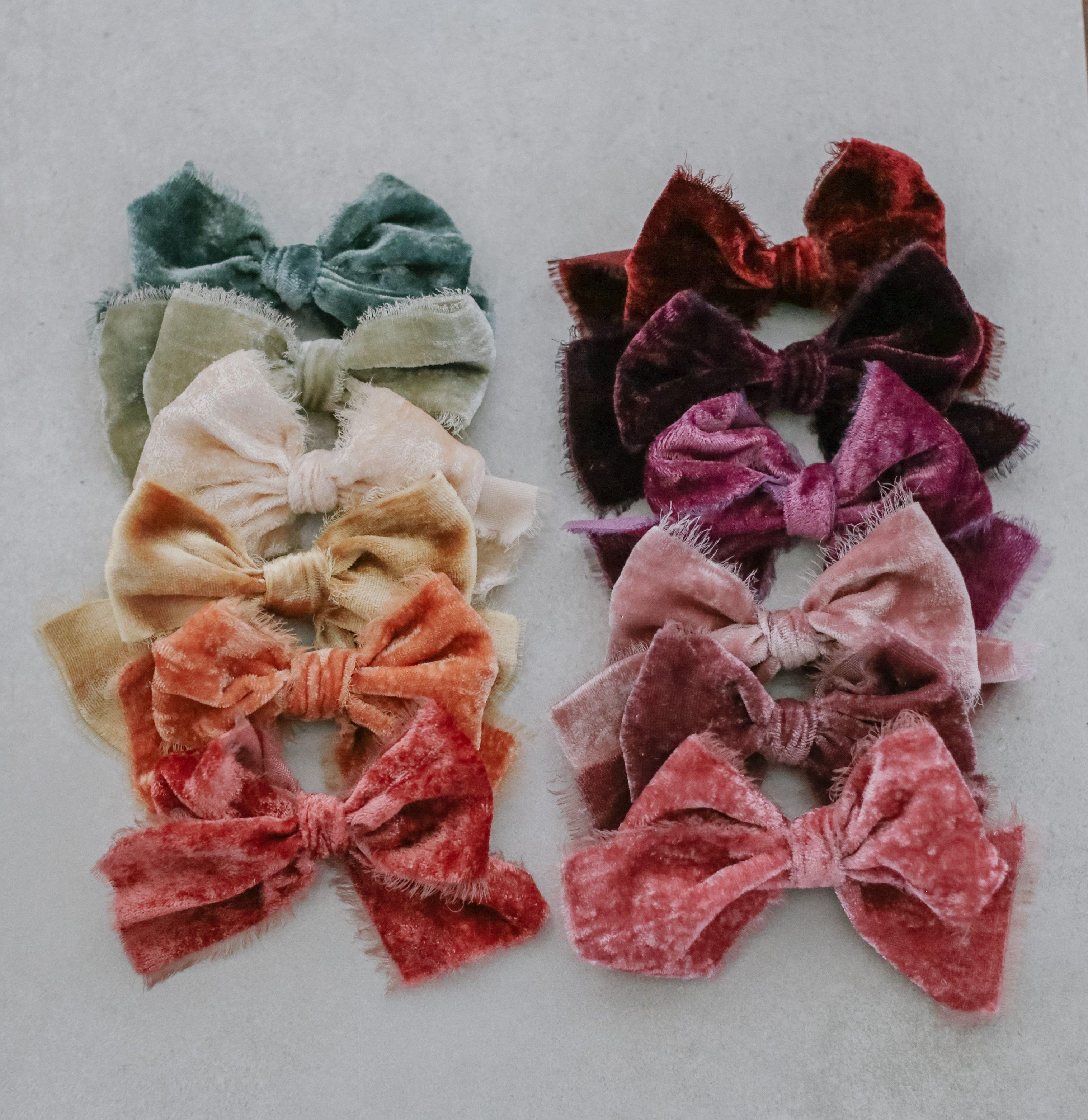 Pin by Little Jos Shop on Little Jos Velvet, Bows, Headbands