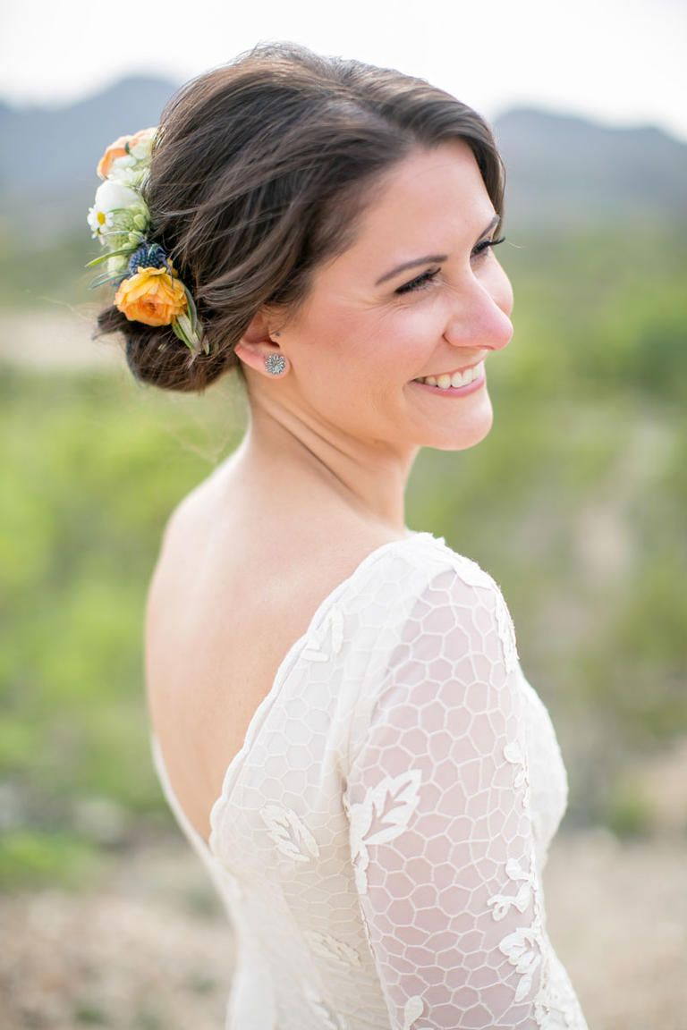 Flower Crown Wedding Hairstyles For Brides And Flower Girls Flower