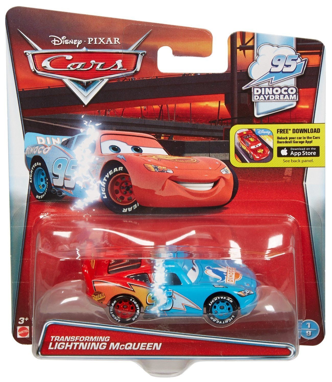 Disney Pixar Cars Transforming Lightning Mcqueen Vehicle