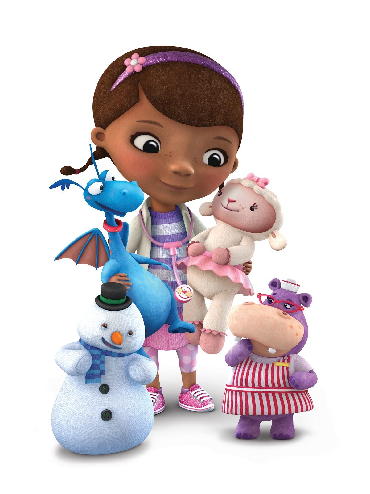 Doc McStuffins...image of the whole gang :) | Auntie's ...