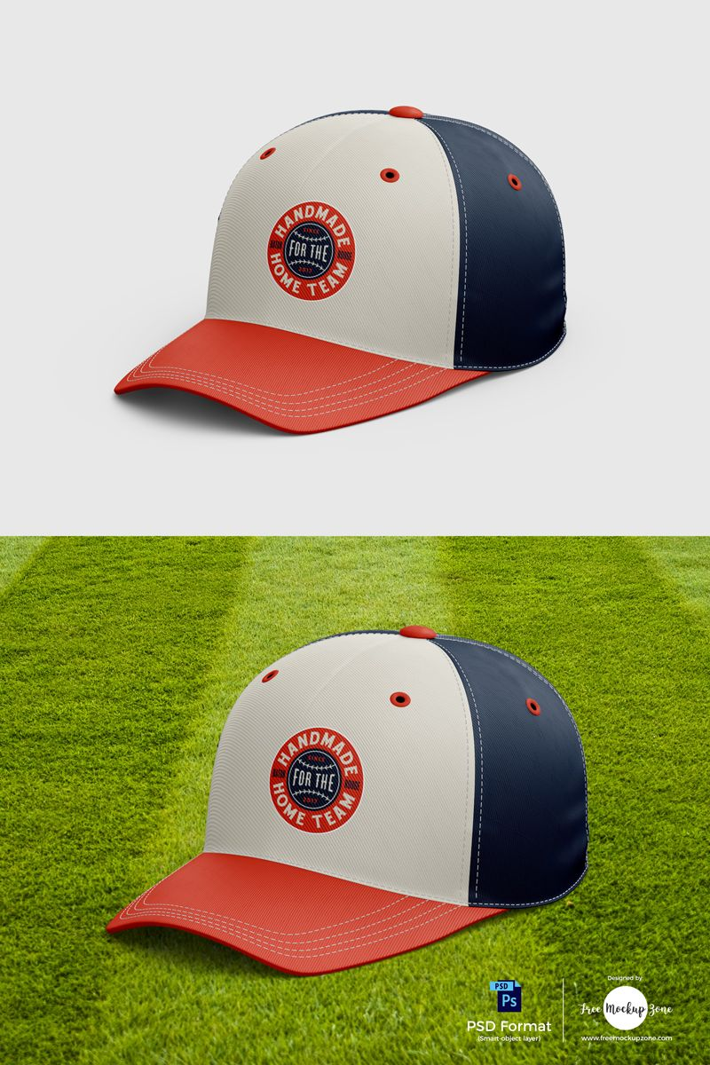 Download Free Baseball Cap Mockup 2018 Baseball Cap Mockup Corporate Identity Design