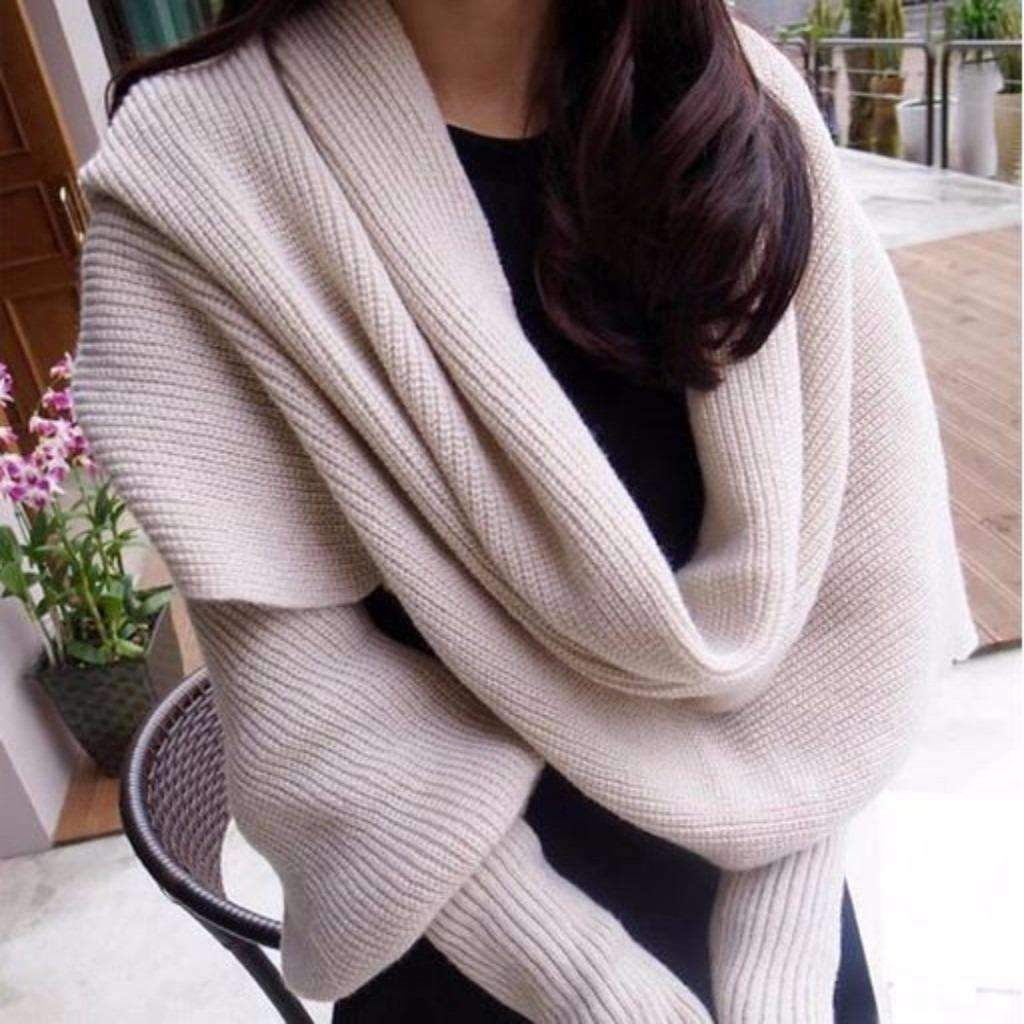 Photo of Crochet Wrap With Long Sleeves
