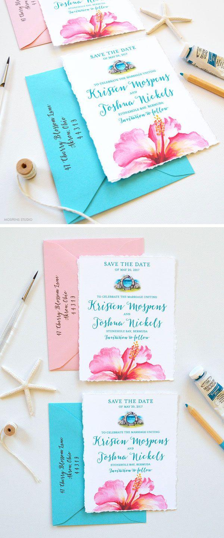 Save The Date Destination Bermuda! Destination wedding