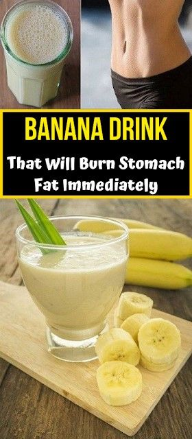 Photo of Banana Drink That Will Burn Stomach Fat Immediately #bananaDrink #banana #drink #stomachfat #fat