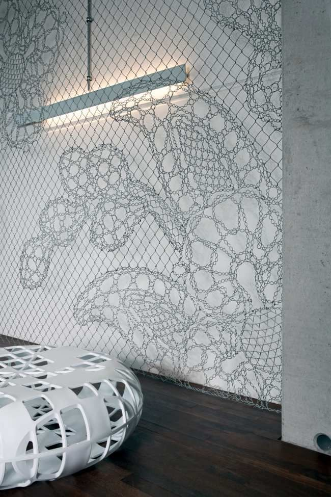 kreativer drahtzaun spitze demakersvan wanddekoration | Einrichten ...