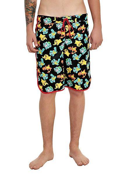 2bc775cab9 Pokemon Boys Pokeball Swim Shorts Ages 5 To 13 Years Unique ...