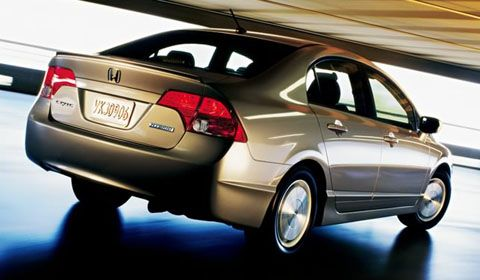 Best Gas Mileage Cars Honda Civic Hybrid Vs Insight Tie For Third Are The Which Both Give An Estimated Combined 41 Mpg