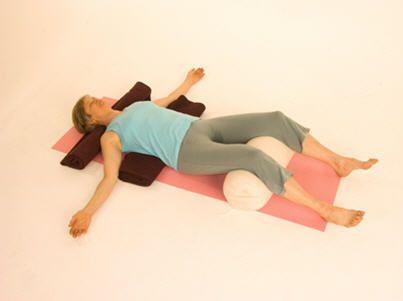 savasana  corpse pose  restorative yoga iyengar yoga