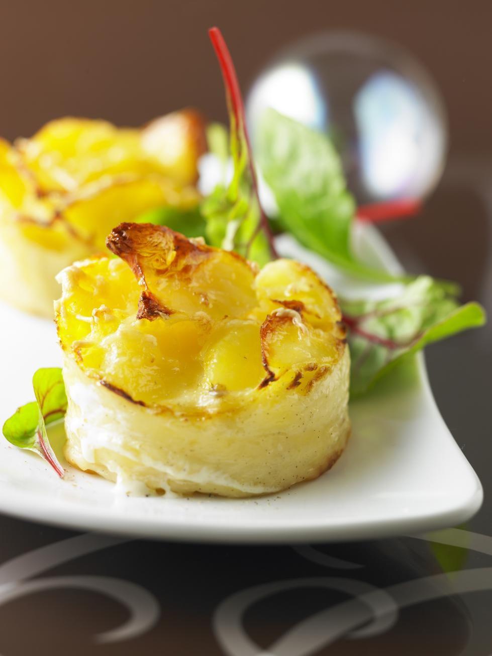 fa4f13ff029 4 mini-gratins de pomme de terre surgelés - Les légumes