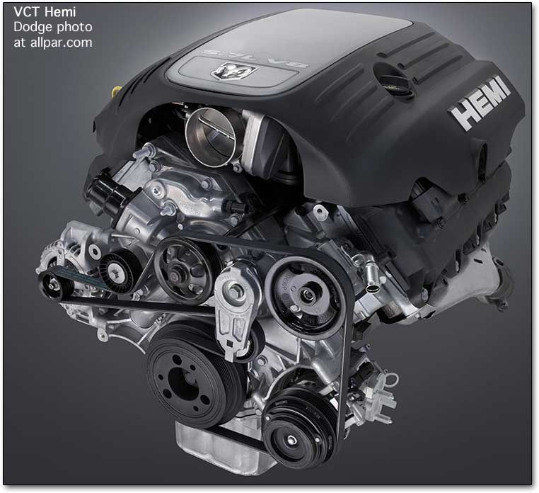 Dodge 5.7 HEMI Engine - Variable Cam