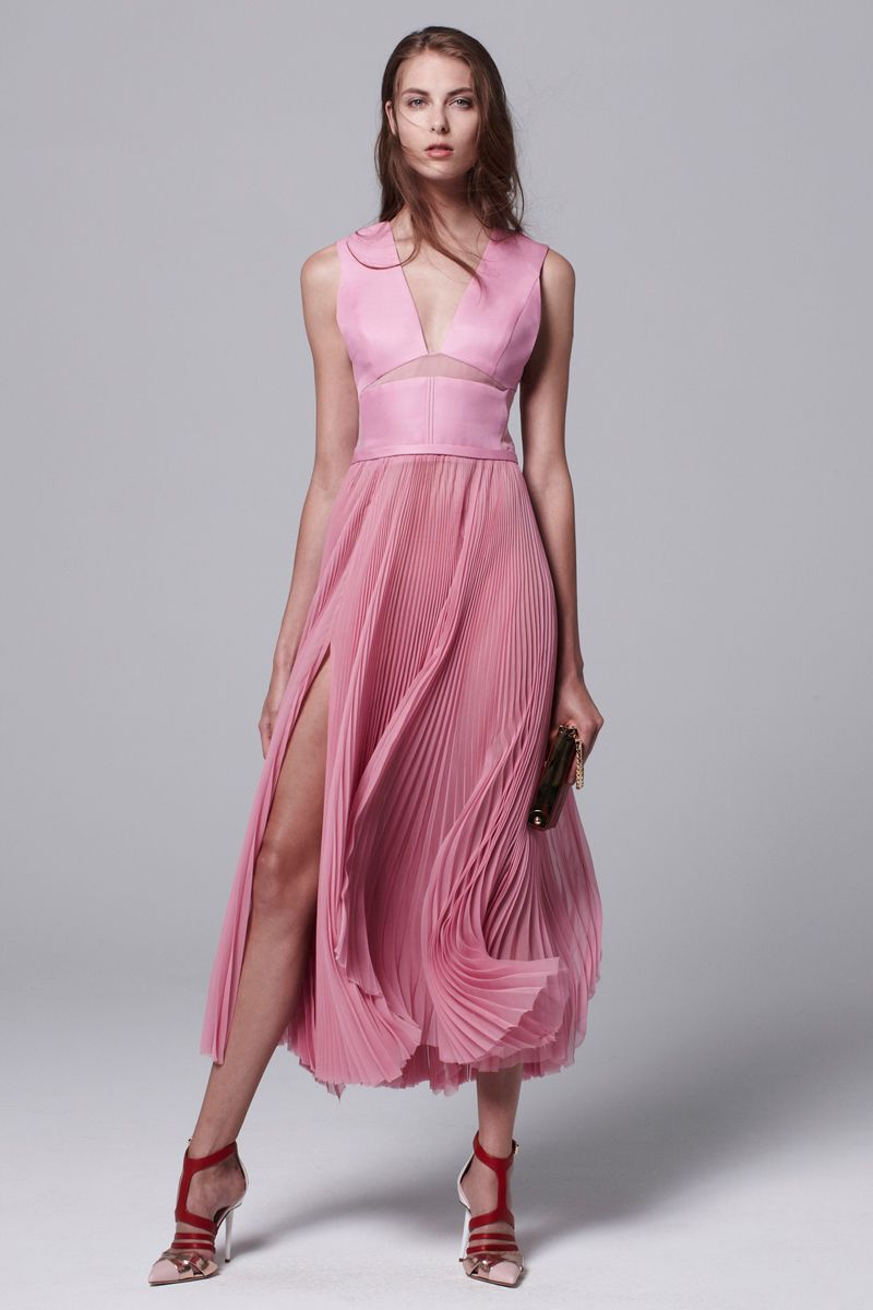 Pink #dress I J. Mendel Resort 2014 #fashion | Mi Estilo | Pinterest ...