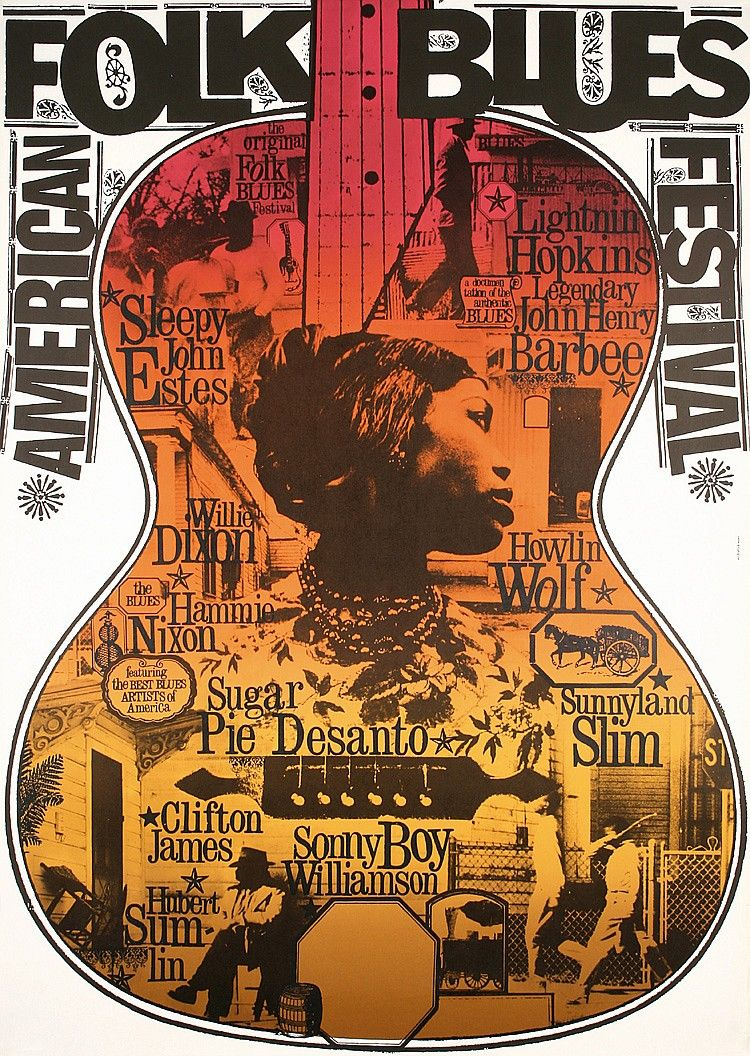 Blues Music Posters