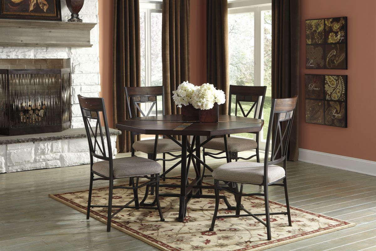 Vinasville Table & 4 Chairs | Dining room sets