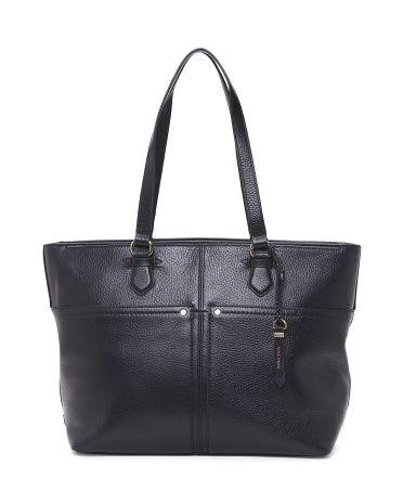 bb1b07ec3c1  129.99 Cole Haan Ilianna Leather Work Tote