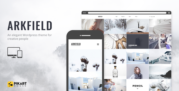 ARKFIELD - An Elegant Portfolio WordPress Theme