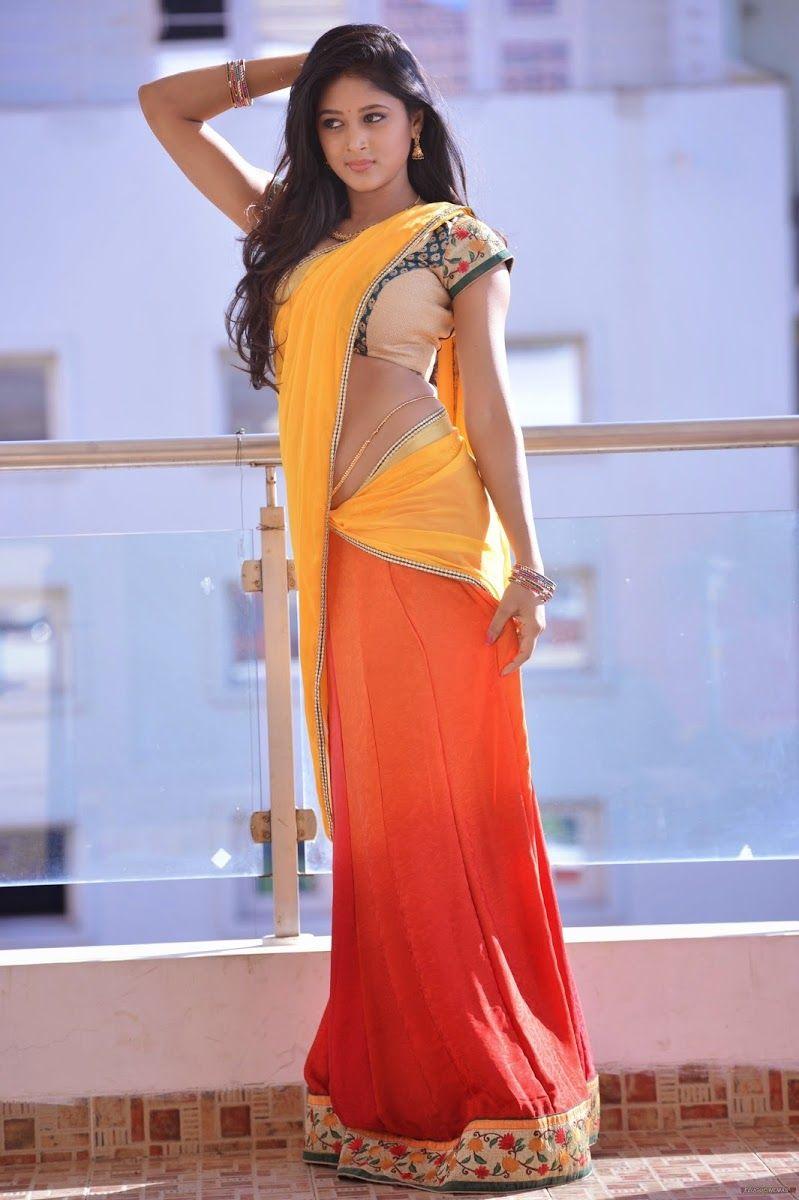 Actress Sushma Raj Half Saree Hot Stills Actresses Pinterest