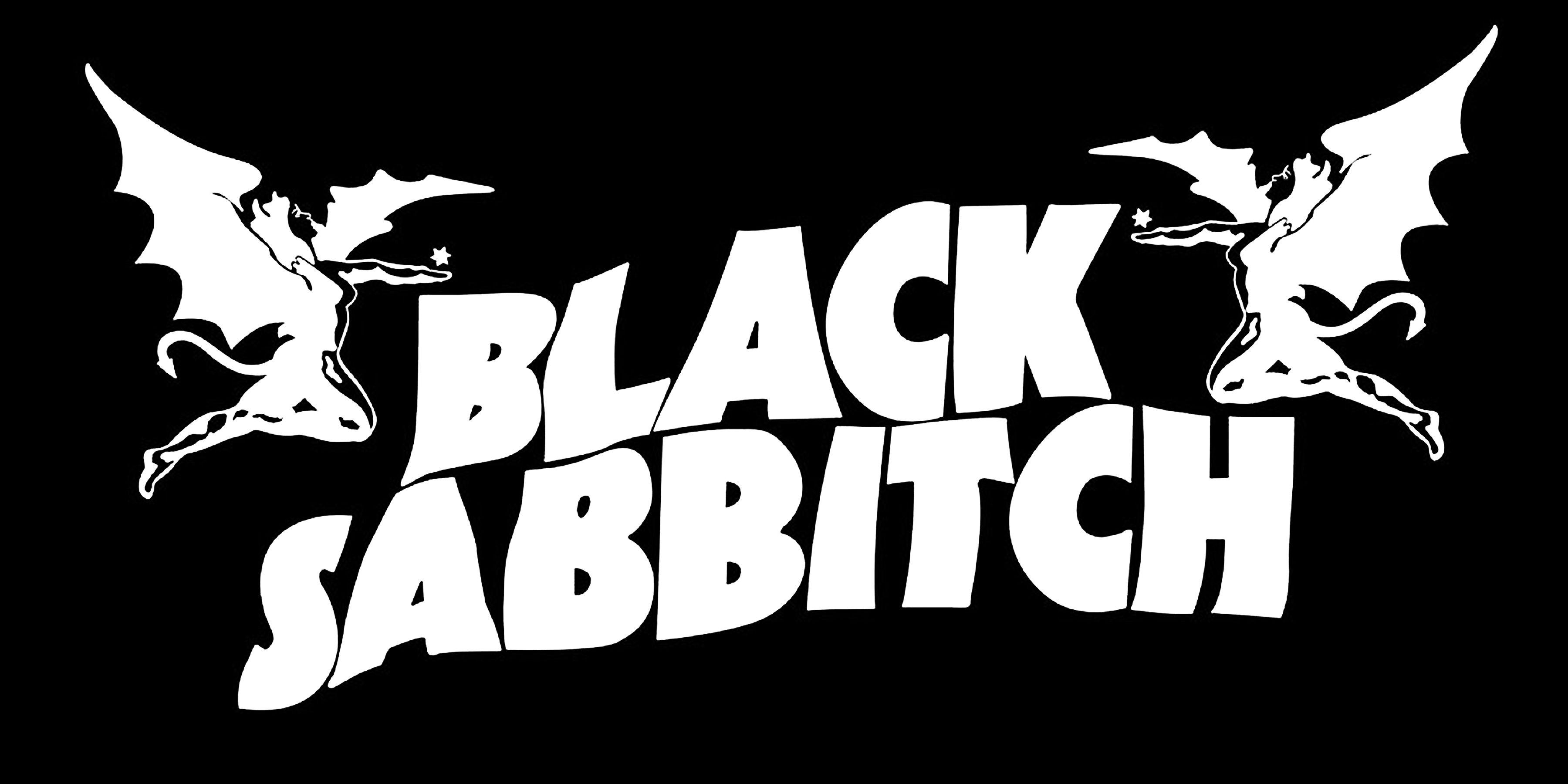 black sabbath logo vector wallpaper