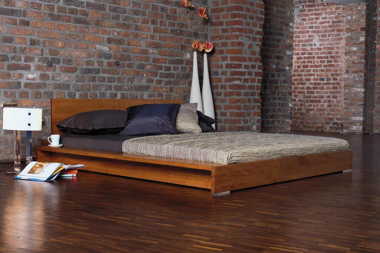 Minimalist Platform Bed Designs And Pictures Wood Platform Bed