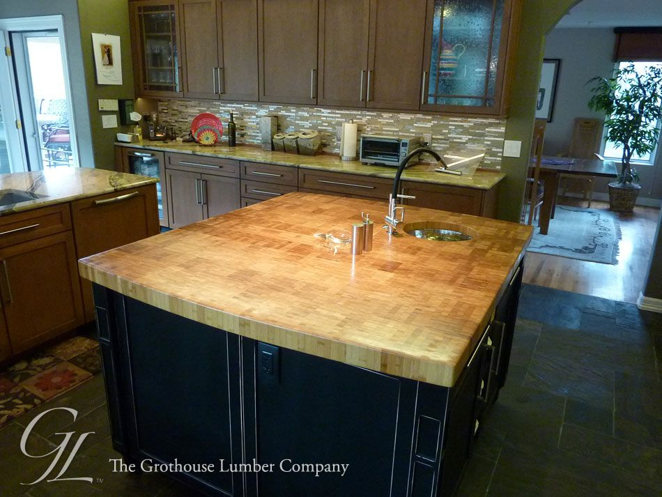 Bamboo Butcher Block Countertop In Colorado Springs, CO
