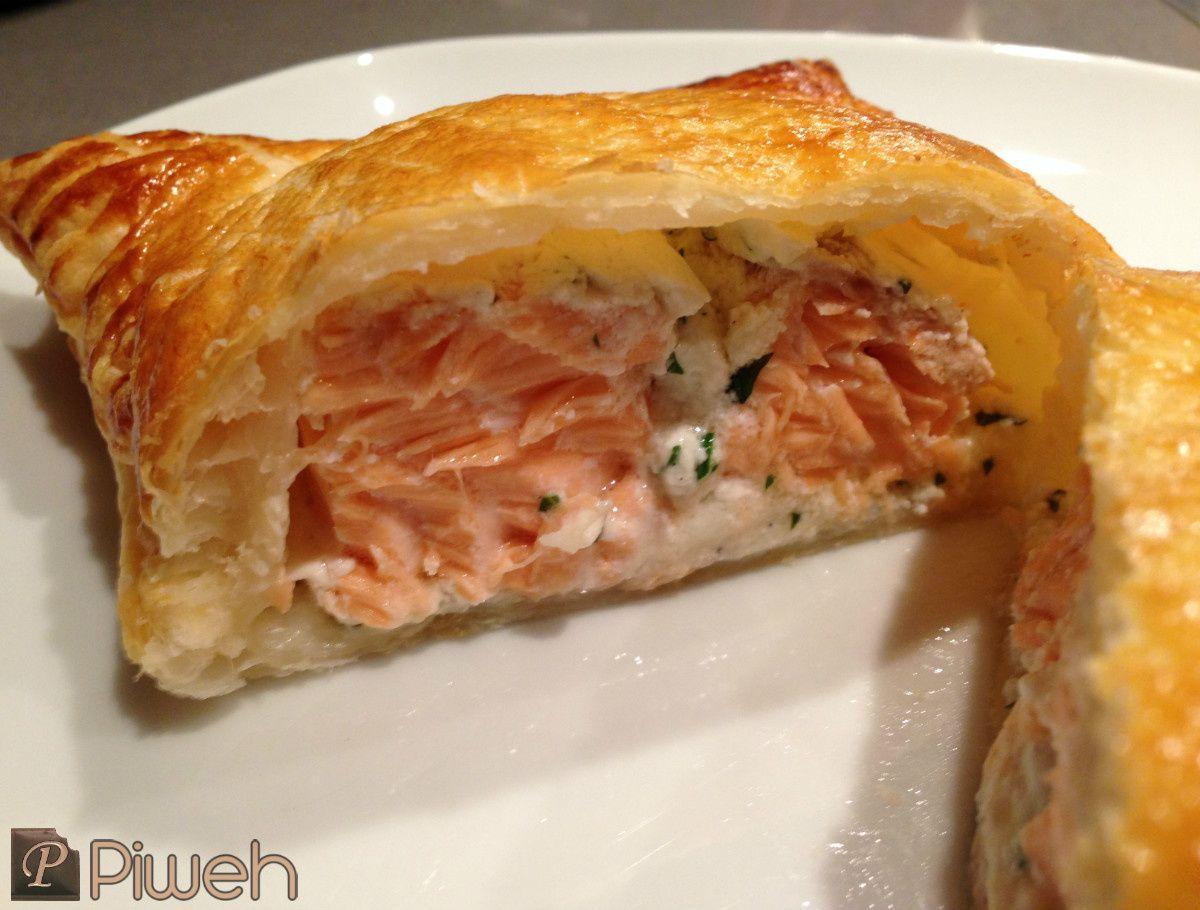 Papillote feuilletée de saumon   Recettes de cuisine, Cuisine ...