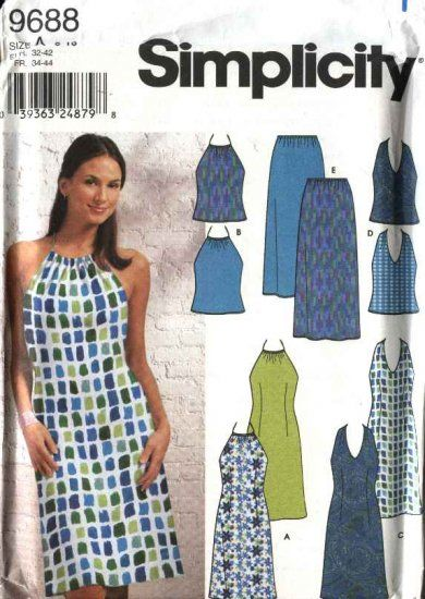Simplicity Sewing Pattern 9688 Misses Size 6-16 Sundress Summer ...
