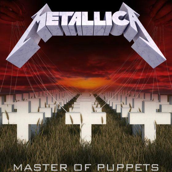 2. Metallica: Master of Puppets (1986) | Metallica albums, Master of puppets,  Metallica album covers