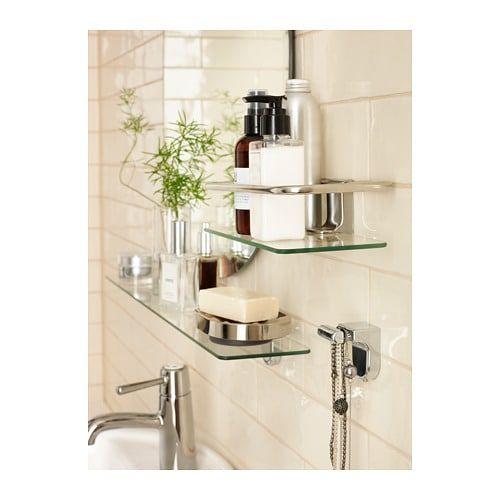 11+ Bathroom shelves glass chrome info