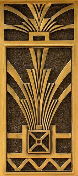 Poster door deceive eye horse in its box 304 Art Deco Stickers