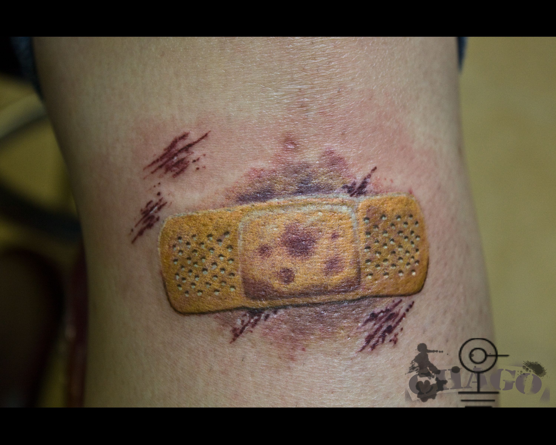 Band aid tattoo tattoo pinterest band for Band aid tattoo