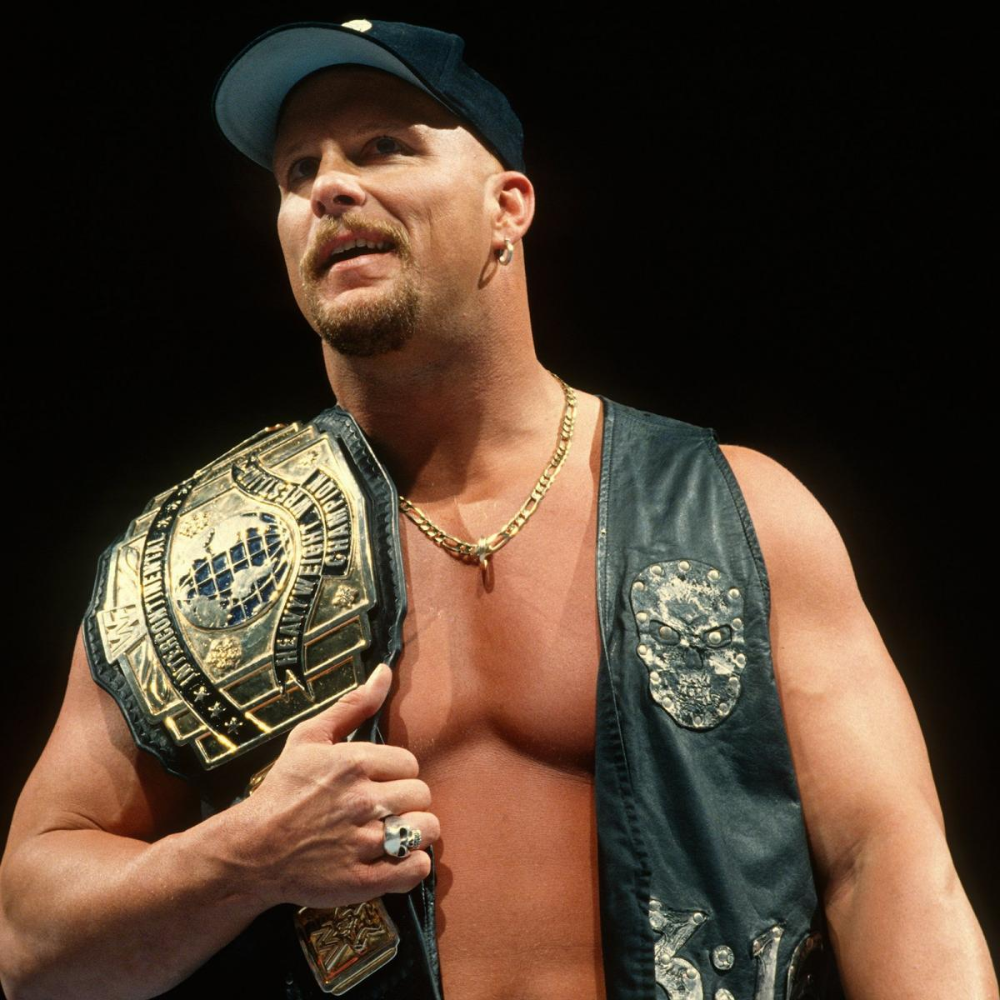 Photos From Every Stone Cold Championship Stone Cold Steve Steve Austin Wwe Champions