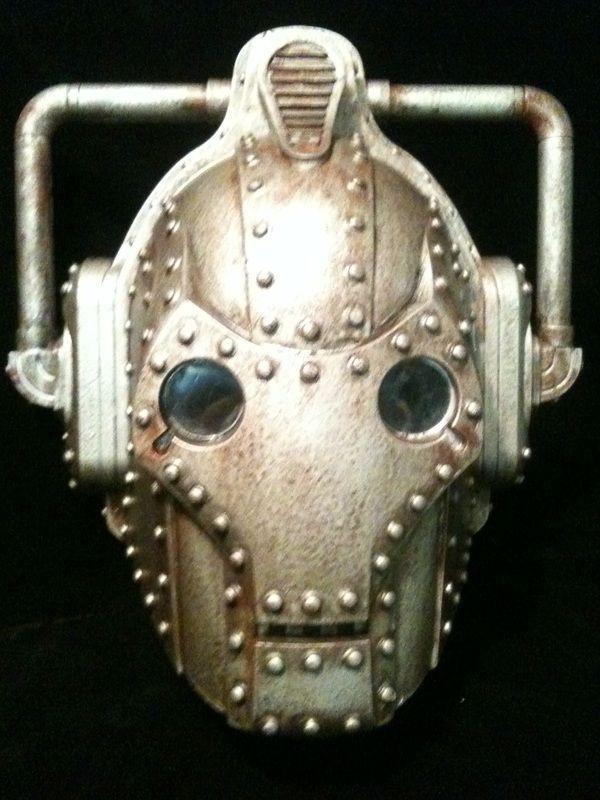 Steampunk-ish Cyberman Helmet   $180