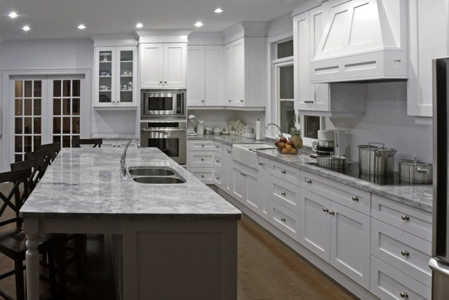 White Shaker Style Kitchen | Allstyle.ca .. Will Make Cabinet Doors And  Drawer