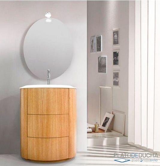 Mueble de ba o alona de est tica moderna e ideal para Ideas para banos con poco espacio
