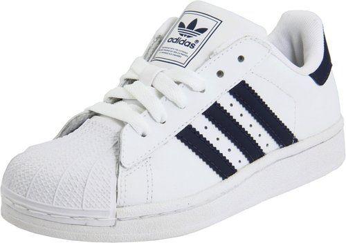 5f38435509b7 adidas Originals Superstar 2 Sneaker (Little Kid Big Kid)  Shoes