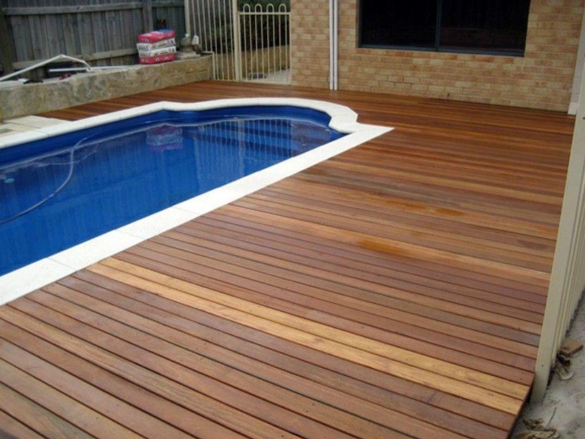 inground pool deck ideas | pool design and pool ideas
