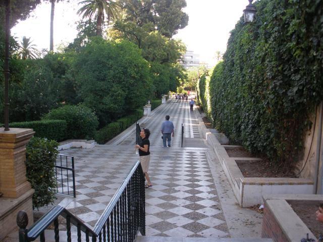 Los jardines de murillo sevilla andaluc a spain for Jardines de murillo