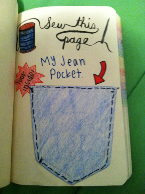 Pin by Erin Niland on Wreck This Journal   Wreck this ...  Wreck This Journal Sew This Page