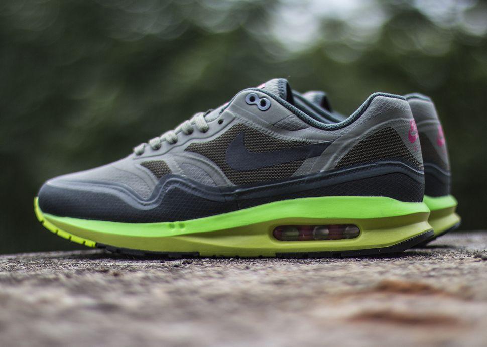 "promo code 91c4f 73f94 Nike Air Max Lunar1 WR ""Grey, Green   Volt """