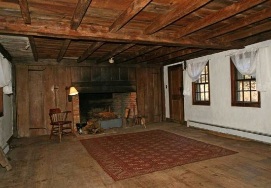 early colonial house interiors floors google search