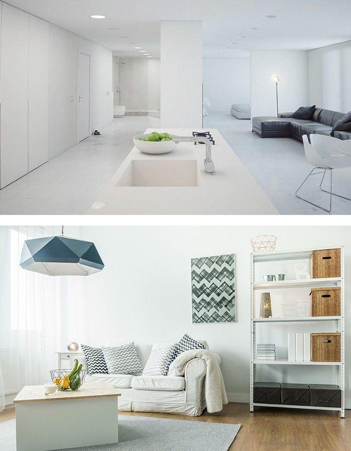 Wohnzimmer minimalistisch einrichten doch mit eigenem Charakter  Wohnzimmer Ideen  Pinterest