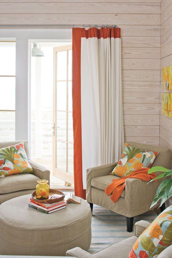 Texas Coastal Idea House Tour Living Room Decor Curtains Living Room Home Decor