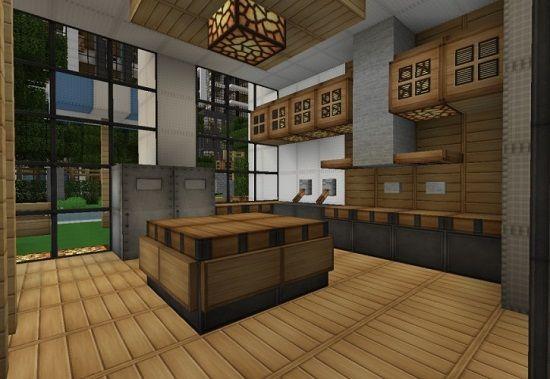 Gorgeous Minecraft Kitchen Ideas  Kitchen  Pinterest Interesting Minecraft Modern Kitchen Designs Decorating Inspiration