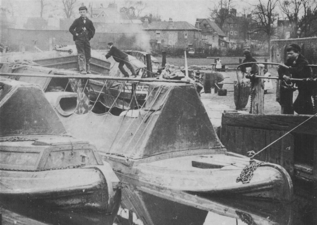 1890's narrowboat families photos Google Search